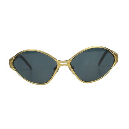jean-paul-gaultier-vintage-sunglasses-gold-oval-frame-pre-owned-used
