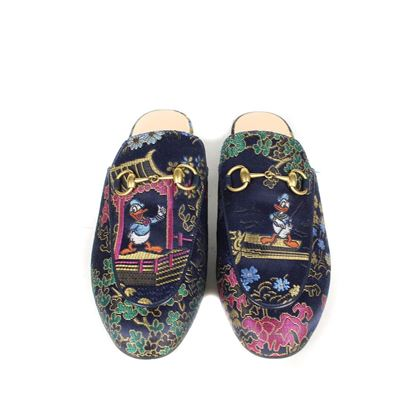 gucci-duck-princetown-loafers-6-36-floral-pre-owned-used