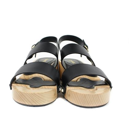 chanel-wood-block-platform-pearl-sandals-with-leather-straps-95-395-black-brown-beige-pre-owned-used