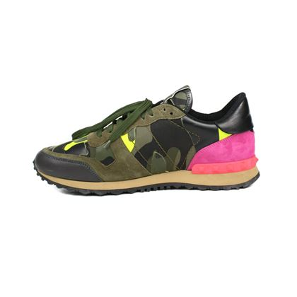 valentino-sneakers-camo-rockstud-pre-owned-used