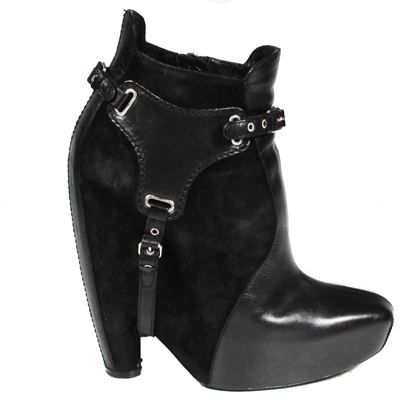 balenciaga-harness-boots-black-suede-leather-straps-us-65-365-pre-owned-used
