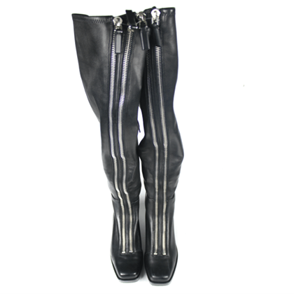 alexander-wang-black-leather-black-federica-high-tall-double-zipper-boots-us-9