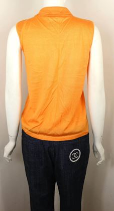 chanel-orange-cashmere-and-silk-sleeveless-collar-top