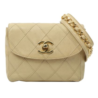 chanel-bicolore-stitch-turn-lock-waist-bag-beige