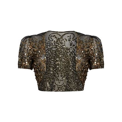 vintage-1930s-black-tulle-and-gold-sequinned-capelet-bolero-uk-size-8-12