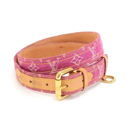 louis-vuitton-magenta-ceinture-monogram-denim-belt-size-9036