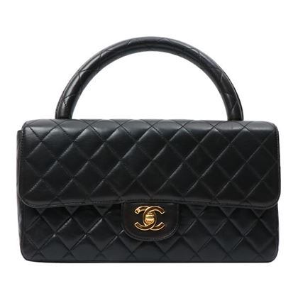 chanel-turn-lock-classic-flap-handbag-black