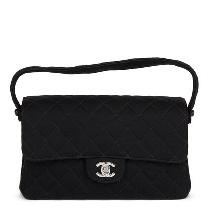 black-quilted-jersey-vintage-medium-double-sided-classic-flap-bag
