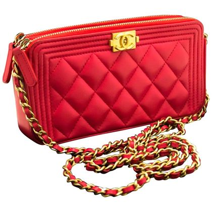 chanel-boy-hot-pink-wallet-on-chain-woc-w-zip-chain-shoulder-bag