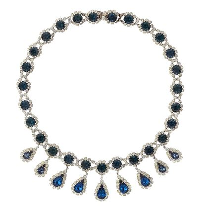 1950s-vintage-kramer-blue-swarovski-crystal-necklace