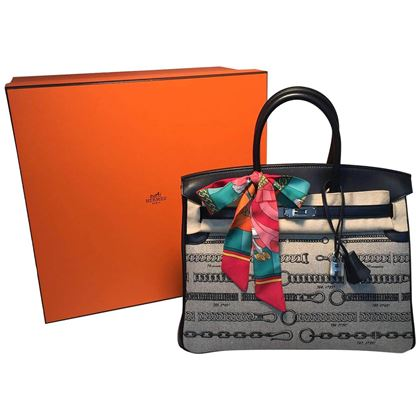 new-limited-edition-hermes-toile-de-camp-dechainee-canvas-black-35cm-birkin-bag