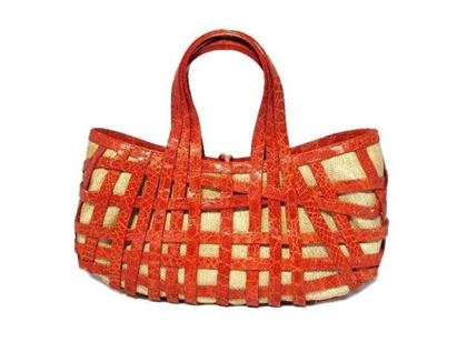 nancy-gonzalez-red-crocodile-basket-handbag
