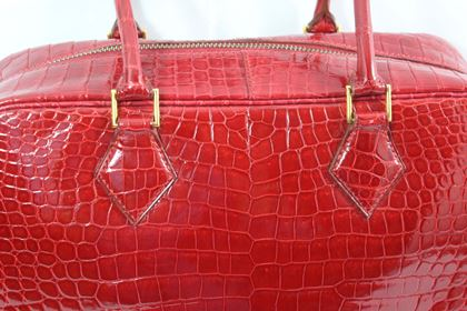 1998-hermes-plume-in-red-porosus-crocodile-leather-excellent-condition