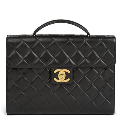 black-quilted-lambskin-vintage-jumbo-xl-classic-briefcase-2