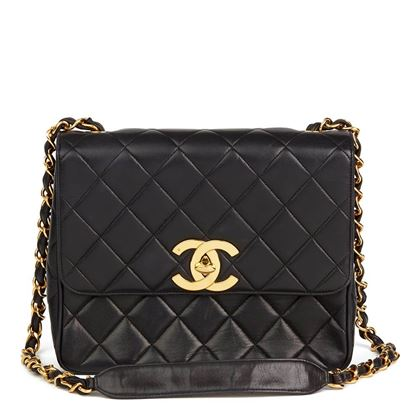 black-quilted-lambskin-vintage-xl-classic-single-flap-bag-2