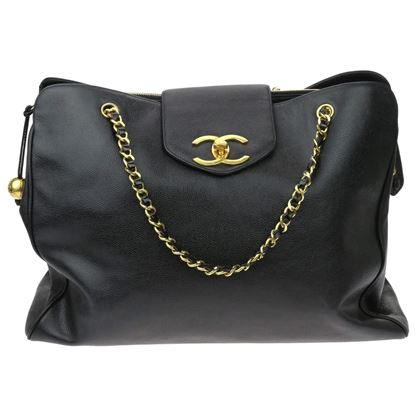 chanel-black-caviar-leather-xl-supermodel-weekender-bag