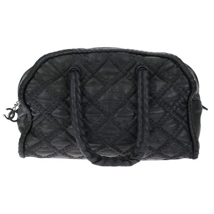 chanel-black-lambskin-quilted-hidden-chain-bowler-bag-shw