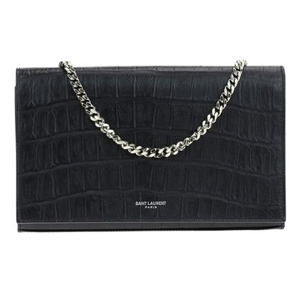 saint-laurent-croc-embossed-wallet-on-chain-clutch-woc-bag