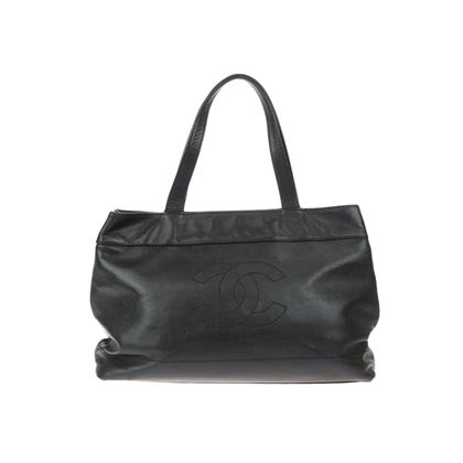 chanel-black-caviar-leather-cc-large-shopper-tote