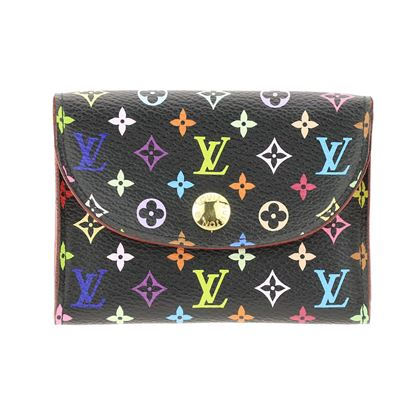 louis-vuitton-black-canvas-monogram-multicolor-card-holder-ghw