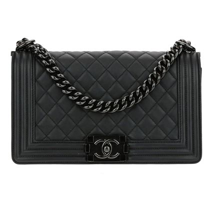 chanel-18c-black-calfskin-leather-medium-boy-bag
