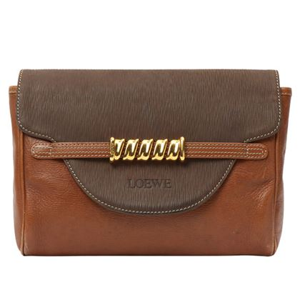 loewe-bicolor-logo-embossed-clutch-bag-camelmocca-brown