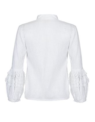 mexicana-1970s-white-cotton-pin-tuck-blouse-with-lace-bubble-sleeves-uk-size-12