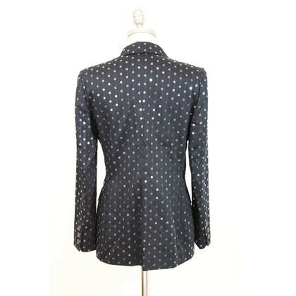 les-copains-double-breasted-cotton-vintage-blue-jacket