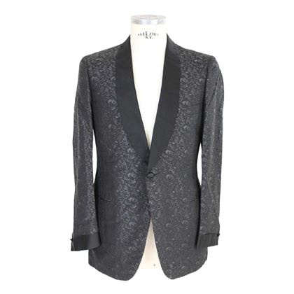 brioni-black-vintage-silk-smoking-jacket