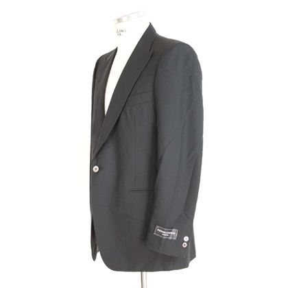 pierre-cardin-jacket-smoking-piquet-vintage-black