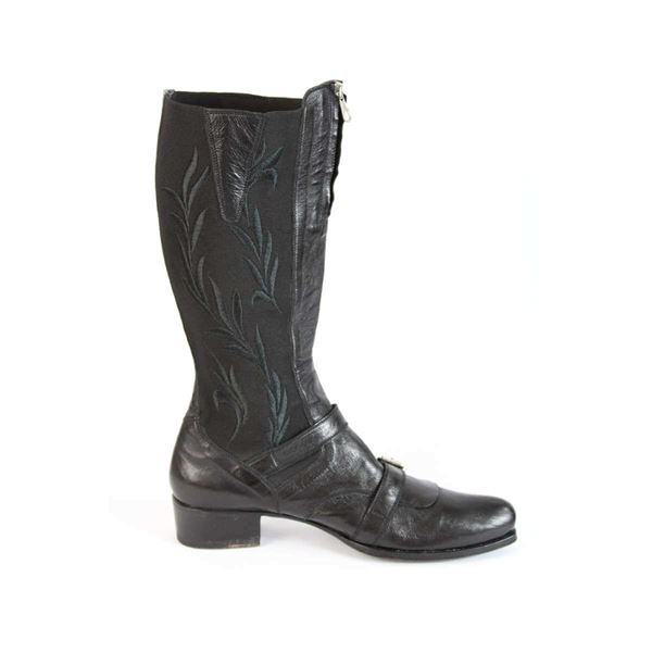 gianni-barbato-shoes-boots-vintage-leather-black