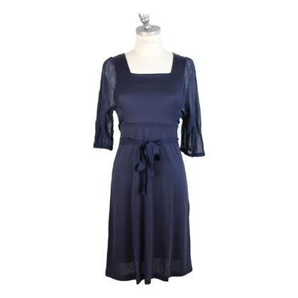 philosophy-by-alberta-ferretti-vintage-blue-cotton-dress