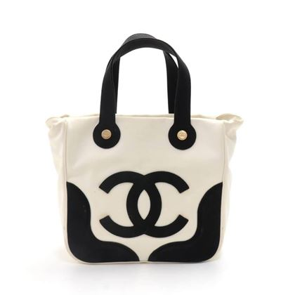 38a20525fbe Chanel Marshmallow Black   White Tote Bag -Limited Edition