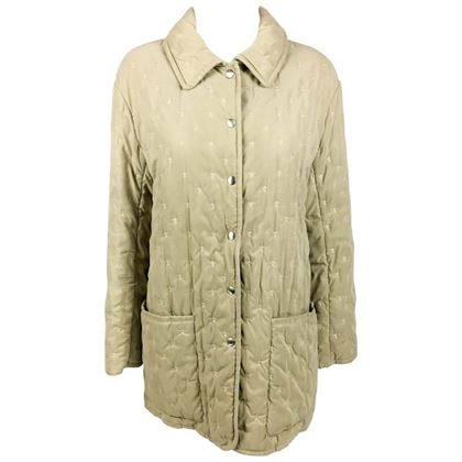 hermes-taupe-quilted-jacket-1990s