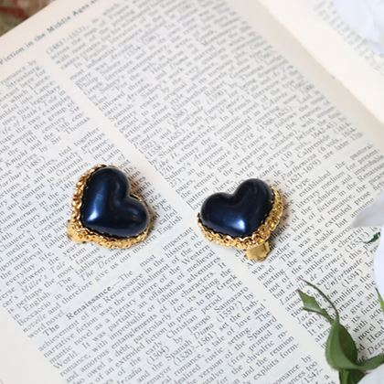 chanel-heart-design-mini-cc-mark-plate-earrings-blue