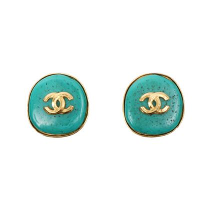 chanel-stone-cc-mark-earrings-turquoise