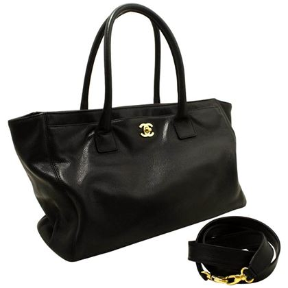 chanel-black-gold-executive-tote-caviar-shoulder-bag-handbag