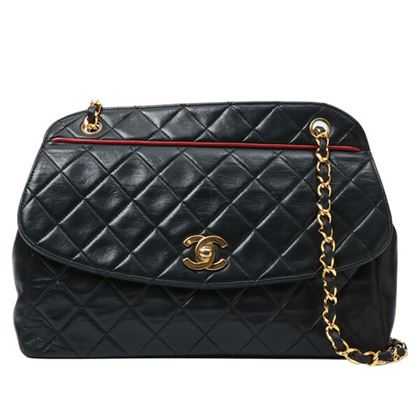 chanel-piping-design-flap-turn-lock-chain-bag-black