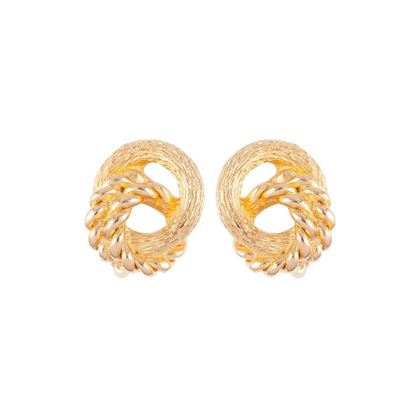 1980s-vintage-christian-dior-knot-clip-on-earrings