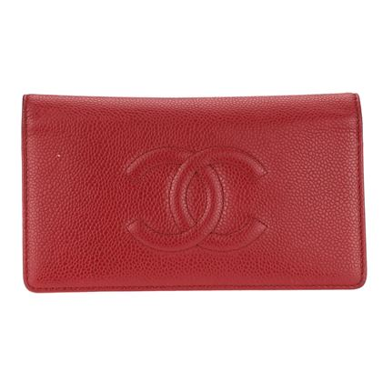 chanel-red-caviar-leather-yen-wallet