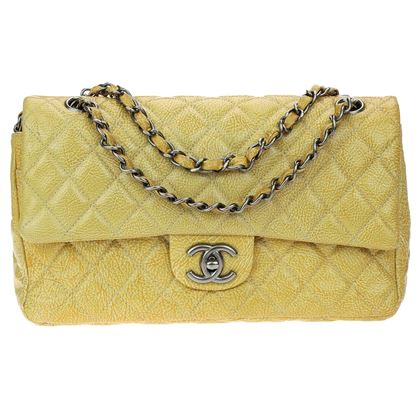 chanel-gold-crumbled-patent-leather-medium-double-flap-bag