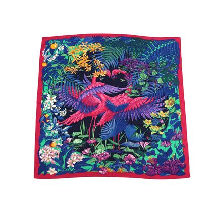 hermes-cashmere-140-gm-flamingo-party-pink-purple-shawl-scarf
