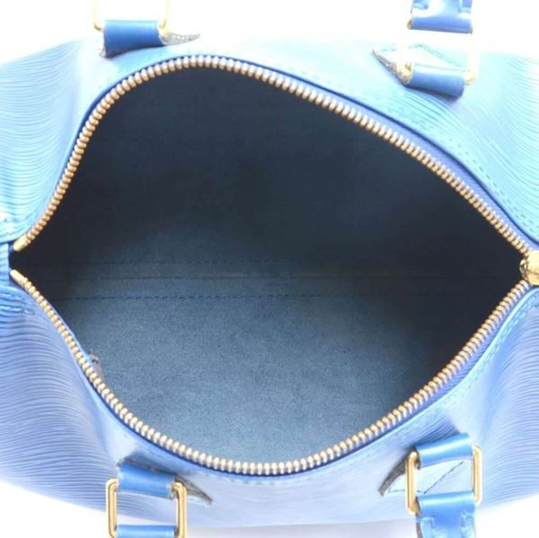 cf4128500db5 Vintage Louis Vuitton Speedy 25 Blue Epi Leather City Hand Bag
