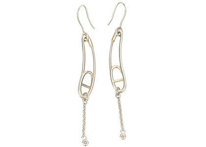 hermes-chaine-dancre-punk-earrings-small