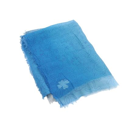 chanel-blue-ombre-large-cc-logo-scarf-shawl