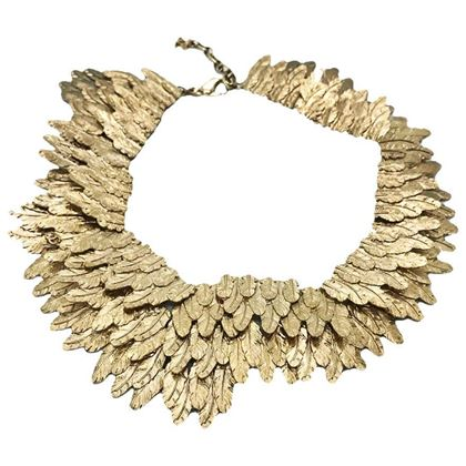 chanel-gold-tone-feather-collar-choker-necklace-2008