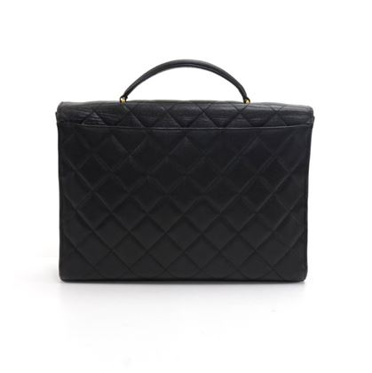 vintage-chanel-black-caviar-quilted-leather-briefcase