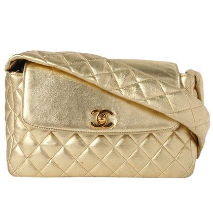chanel-design-flap-turn-lock-handbag-gold