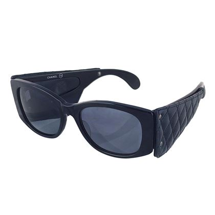 chanel-rare-quilted-leather-1988-sunglasses