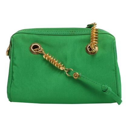 fendi-logo-zip-charm-design-long-shoulder-bag-green